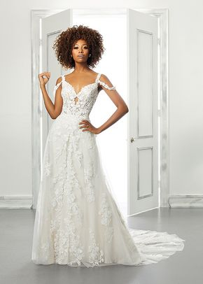 5901, Blu by Mori Lee
