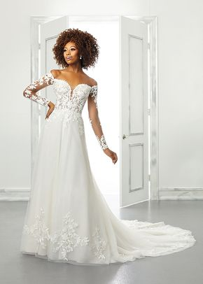 5902, Blu by Mori Lee