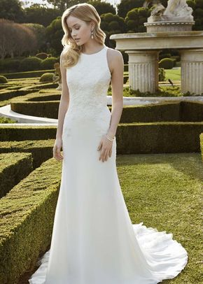 White by Vera Wang VW351346, WHITE by Vera Wang at David's Bridal