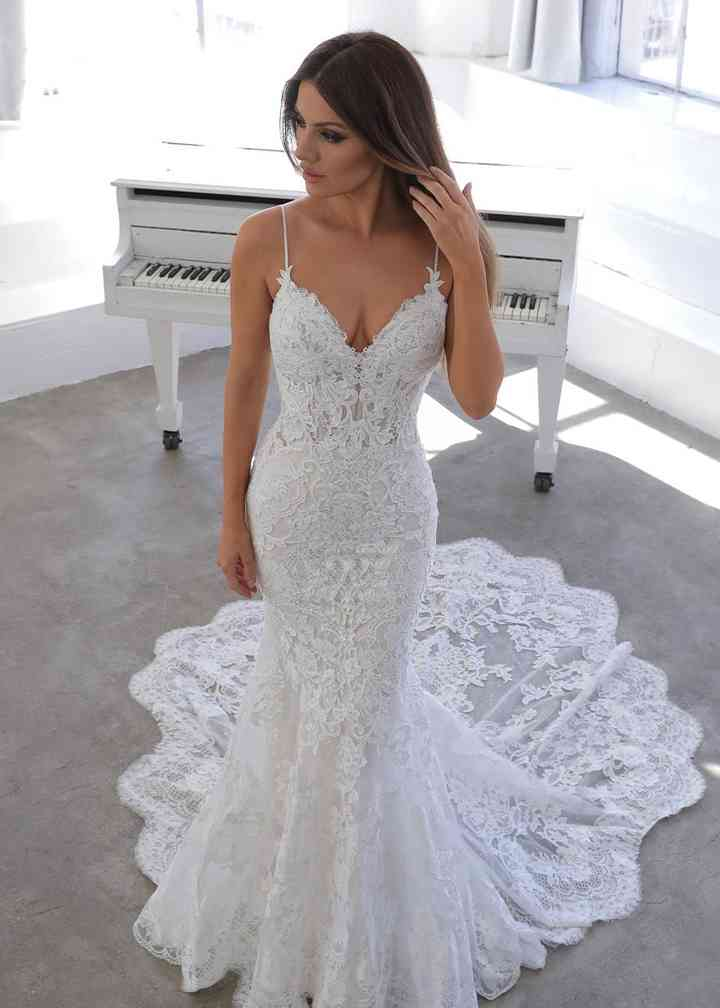 Mermaid Wedding Dresses Bridal Gowns Hitched Co Uk