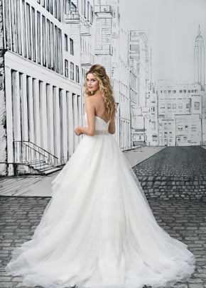 White by Vera Wang VW351431, WHITE by Vera Wang at David's Bridal