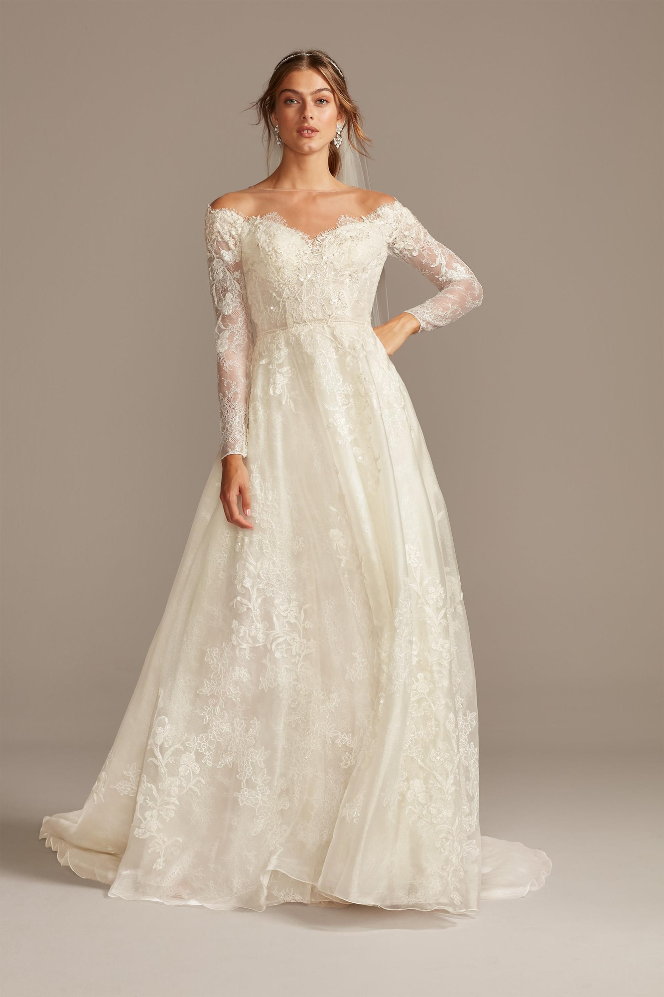 Plus size wedding dresses with sleeves 34 - Fashion Best