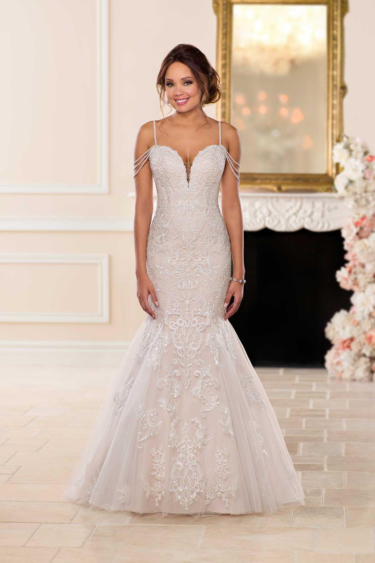 Drop Waist Wedding Dress   Wedding Dresses   Stella York