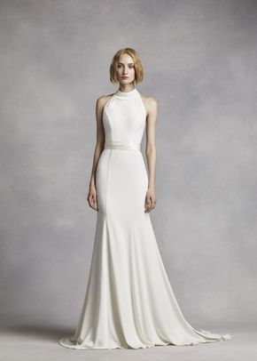 White by Vera Wang VW351263, WHITE by Vera Wang at David's Bridal
