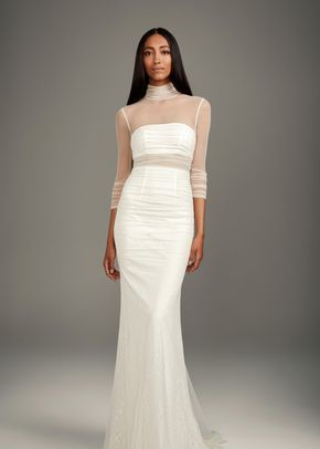 WHITE by Vera Wang VW351320, WHITE by Vera Wang at David's Bridal