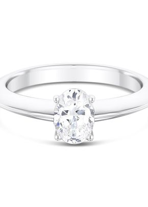 2.4mm Knife Edge 4 Claw Engagement Ring Mount, 1095
