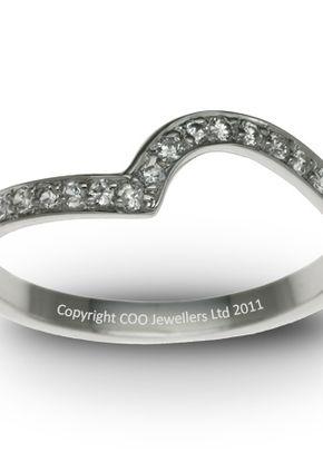 Shaped Wedding Ring 1, COO Jewellers Hatton Garden