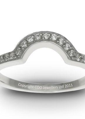 Shaped Wedding Ring 2, COO Jewellers Hatton Garden