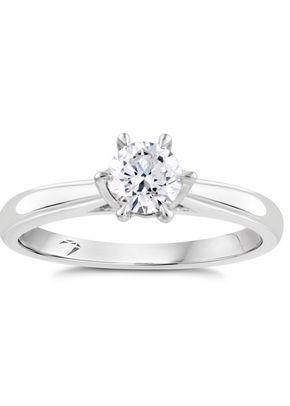 Arctic Light Platinum 0.50ct Diamond Solitaire Ring, 1303