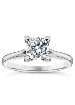 Platinum 1ct Diamond Solitaire Ring, Ernest Jones