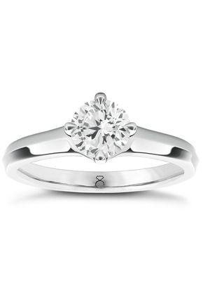 The Diamond Story 18ct White Gold 0.50ct Diamond Ring, 1303