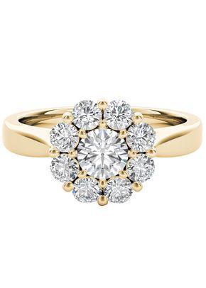 The Diamond Story 18ct Yellow Gold 1ct Total Diamond Ring, 1303
