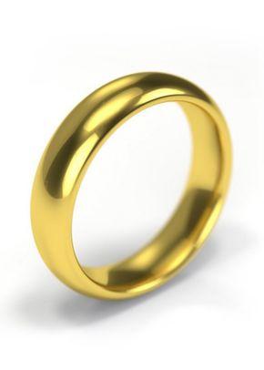 18ct Yellow Gold Wedding Ring 5mm Band, 1209