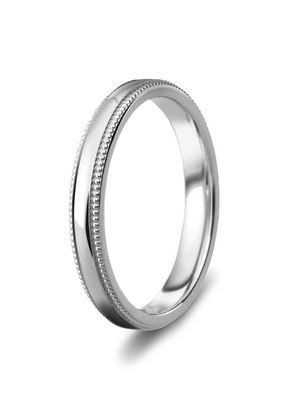 Diamond Cut 3mm Wedding Ring, Milgrain Style, House of Diamonds