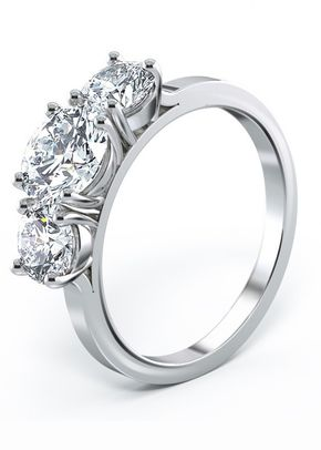 Engagement Ring - Capella 3 Stone Round Brilliant Diamond Ring, House of Diamonds