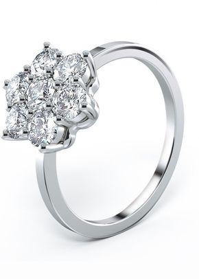 Engagement Ring - Sirius 7 Stone Diamond Cluster, House of Diamonds