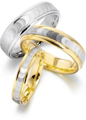 8095, Smooch Wedding Rings