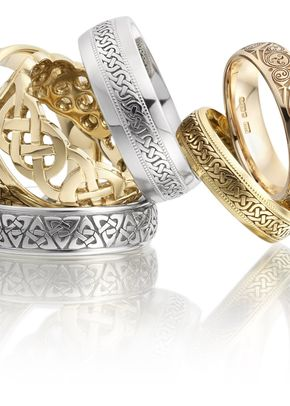 Celtic Tumble, Smooch Wedding Rings