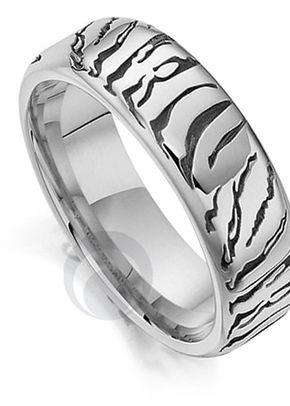 Big Cat Tiger Platinum Wedding Ring, The Platinum Ring Company