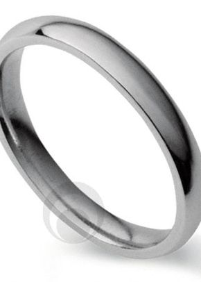 Plain Court Platinum Wedding Ring, The Platinum Ring Company