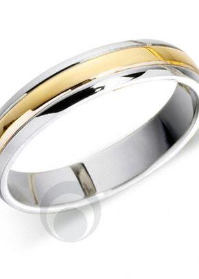 Platinum & 18ct White Gold Wedding Ring, The Platinum Ring Company