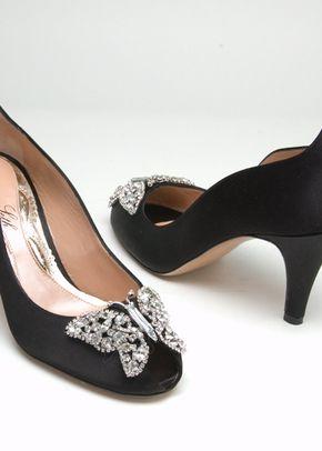 AS151 Farfalla Kitten Heel Black, 839