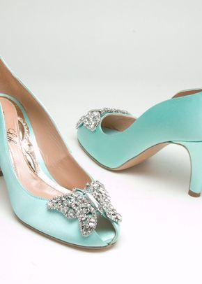 AS151 Farfalla Kitten Heel Tiffany Blue, 839