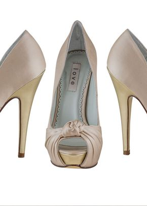 Light Pink Italian Silk Heel, Shoes of Prey