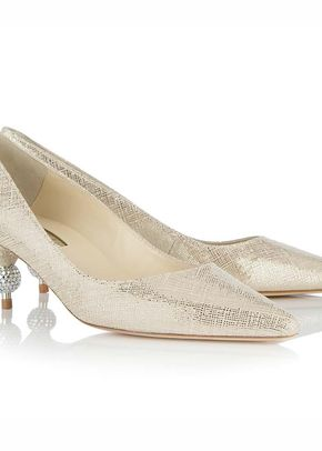 Menbur shoes in ivory satin and emboidery, Sole Divas