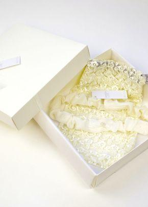 Edmee Garter - Ivory, Britten Bridal Garters