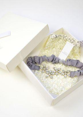 Joi Garter - Grey, Britten Bridal Garters