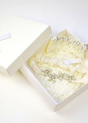Joi Garter - Ivory, Britten Bridal Garters
