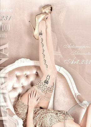 Ballerina Hold Ups, Butterfly Corsets