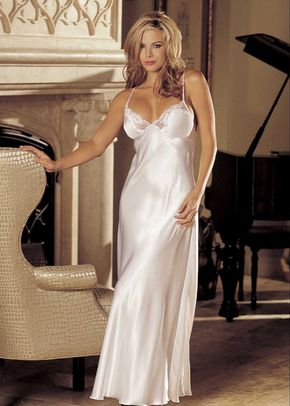 Charmeuse and Lace Long Gown, Butterfly Corsets