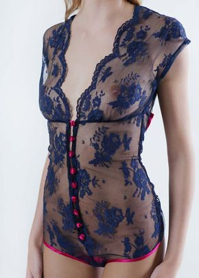 Elektra Ribbon Bodysuit, Queen Annes Lace
