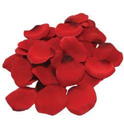 Faux rose petals, 1225