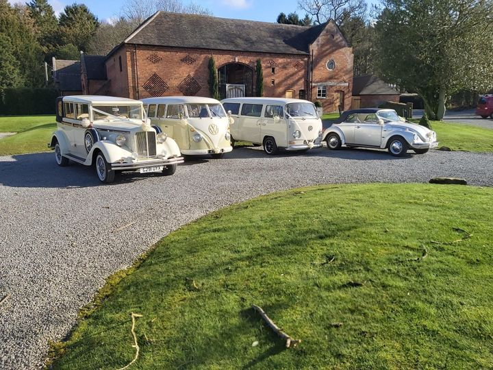 4 of our wedding cars