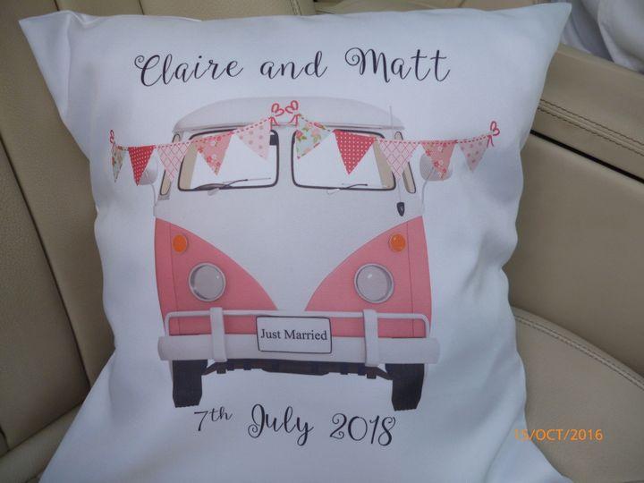 Personalised cushion 4