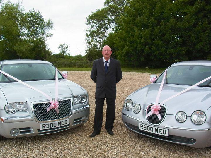 Richard with both cars