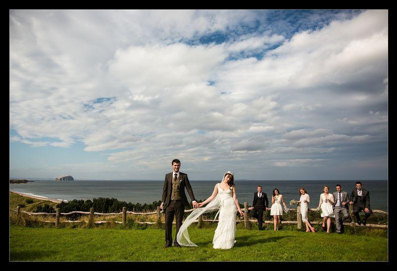 Log Cabin wedding, Scotland