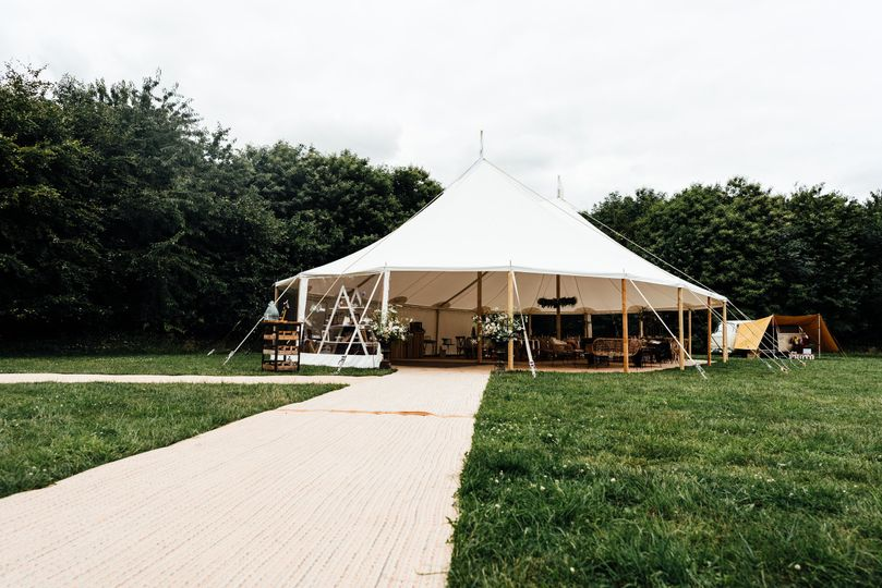 Two Pole Sailcloth Tent