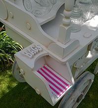 Candy cart bag holder