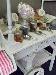 Candy cart table