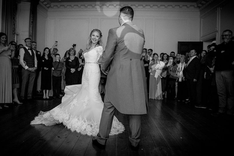 Dancing in the drawing room