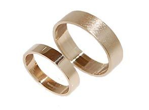 9ct Plain Wedding Rings