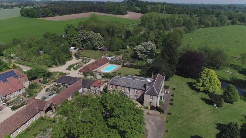21 acre private estate