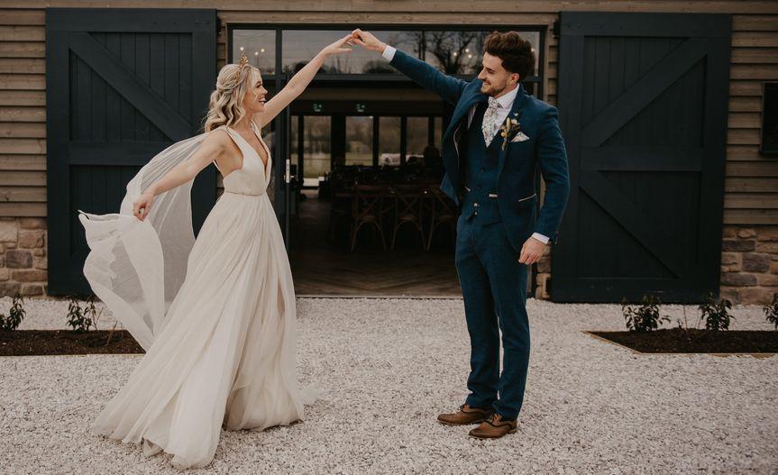 Wedding Couple Stretton Manor