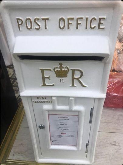 Decorative Hire AJ's Wedding Postbox Hire 2