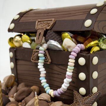 Chocolate treasure chest