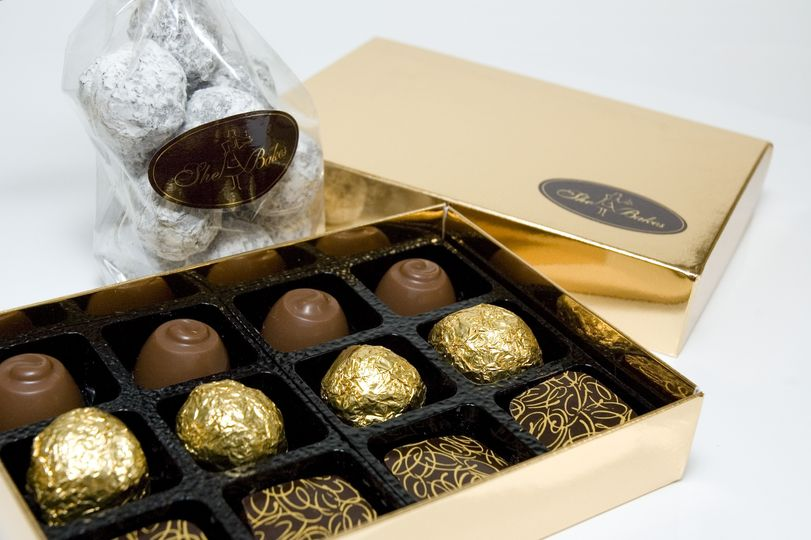 Handmade She Bakes chocolates